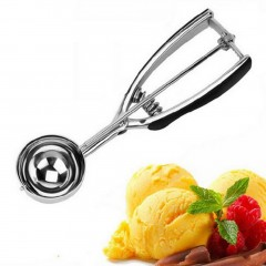 Household Kitchen Ice Cream Scoop Durable Stainless Steel Ice Cream Scoop