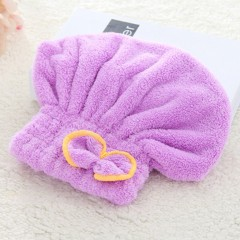 Quick-drying Hair Drying Hat Head Wrap Cap Bathing Super Absorbent Shower Cap