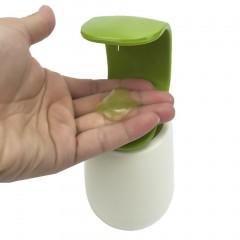 C Shape Press Type One Hand Operate Bathroom Soap Shampoo Dispenser Bottle