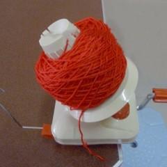 Fiber Yarn Skein String Winder Handle Hand Operated Ball Machine Wool
