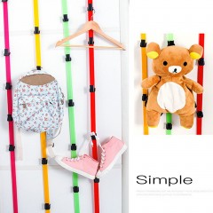 Long Adjustable After Door Hanging Rope Back Door Hanger for Garment Cap