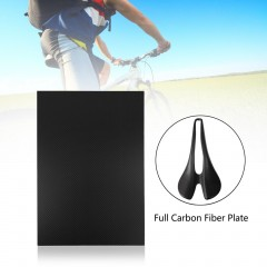 300*200*3mm Full Carbon Fiber Plate Panel Sheet Plain Weave Matt Surface