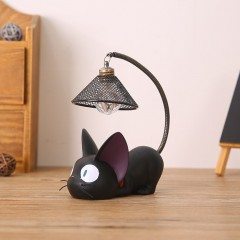 Small Cat Night Light Lightweight Resin Monsterzzz Fashion Cute Nightligh As shown in the pictures 8*12*17CM