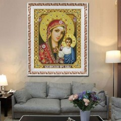 Beautiful 5D Full Drilled DIY Religious Figures Pattern Diamond Painting