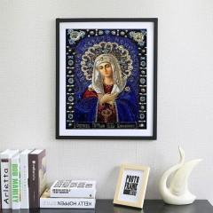 5D DIY Religious Figures Pattern Diamond Painting Cross Stitch Painting multicolor 40x30cm