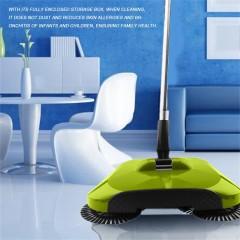 Practical Hand Push Type Sweeping Machine Household Plastic Broom Dustpan Set