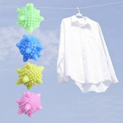 Reusable Plastic Laundry Ball Anti Winding Remove Dirt Washing Machine Ball