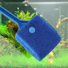 Aquarium Fish Tank Algae Cleaner Glass Plant Easy 2 Head Cleaning Brush
