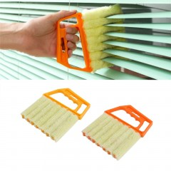 Multifunctional Venetian Blind Brush Window Air Conditioner Dirt Dust Cleaning
