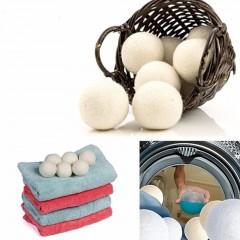 7CM Electrostatic Eliminating Laundry Clean Balls Laundry Fabric Softener Ball