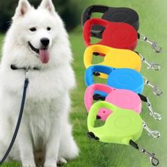 Nylon & Plastic 3M/5M Long Retractable Dog Pet Lead For Training Leash Extendable pink 15*9*3cm