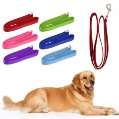 120*2cm Nylon Lead Leash Recall Pet Dog Puppy Long Training Obedience