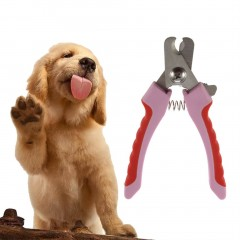 Handle Pet Dog Cats Nail Claw Clippers Scissors Shears Grooming Cutters Tool