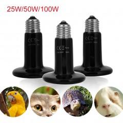25W/50W/100W Ceramic Heat Emitter Bulb Light Lamp For Reptile Pet Brooder