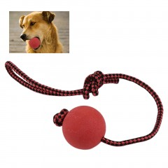 Solid Rubber Dog Chew Training Ball Toys Tooth Cleaning Chew Ball Pet Play