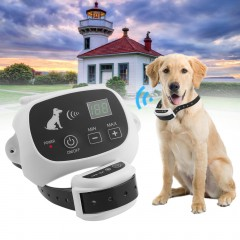 Rechargeable & Waterproof 1/2/3 Dog Fence No-Wire Pet Containment System