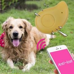 Mini Bluetooth 4.0 Tracker Anti-lost GPS Locator Two Ways Alarm Key Pet Finder