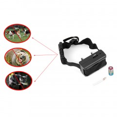 Anti Bark Dog Puppy Pet Training Collar Bark Terminator Stop Electric Shock black 7*4*3cm
