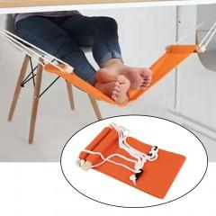 Portable Novelty Mini Office Foot Rest Stand Adjustable Desk Feet Hammock