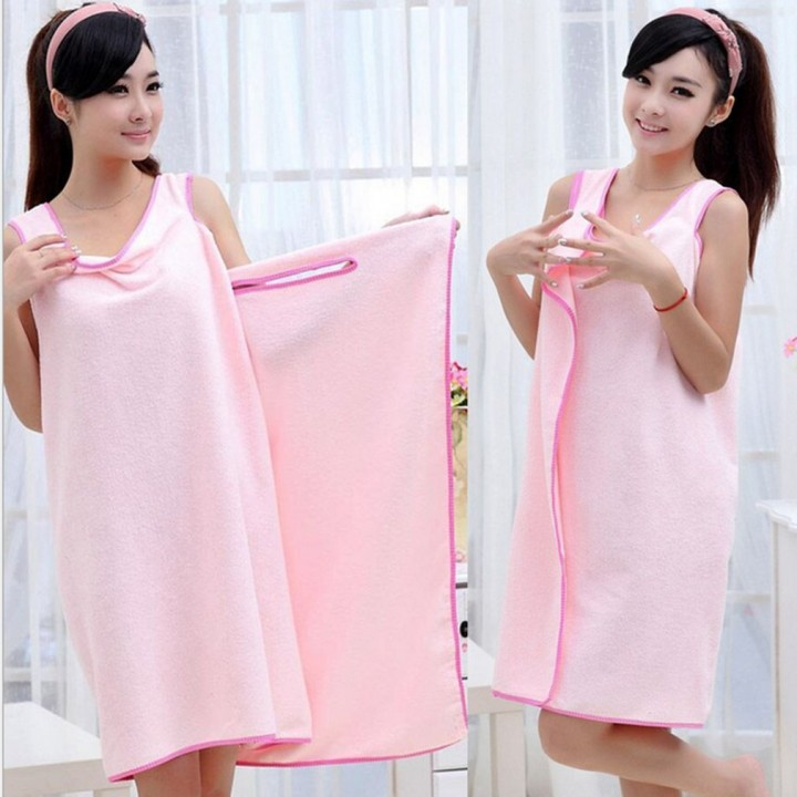 Summer Super Soft Women Microfiber Able Wear Bath Robes Towel for Home Beach 2286a575f