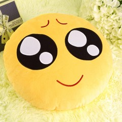 Soft Emoji Cushion Cute Emoticon Pillow Comfortable Stuffed Plush Toy Doll