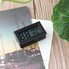 Mini Digital LCD Thermometer Hygrometer Humidity Temperature Meter Indoor black 48*28.5*15.2mm