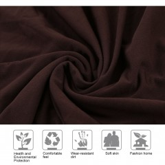 Elastic Polyester Sofa Cover Pure Color Stretch Slipcover Flexible Couch Cover