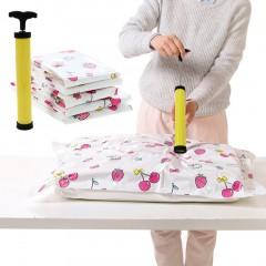 Manual Vacuum Seal Compressed Storage Bag Pump Compact Hand Air Vacuum Pump black&yellow