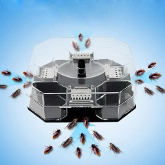 New Cockroach House Roacher Insects Bugs Capture Bait Trap Killer Catcher Box