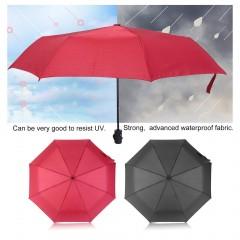 Fashionable Fully-Automatic Three Folding Business Solid Sunshade Umbrella