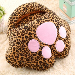 Cute Catlike Feet Warm Treasure USB Foot Winter Warmer Warm Plush Shoes