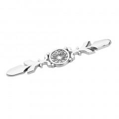 Crystal Glass Zinc Alloy Drawer Cabinet Wardrobe Single Hole Pull Handle Knob