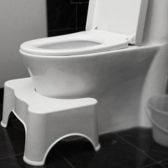 Modern Adult Toilet Stool Non-Slip Thickened PP Removable Potty Toilet Stool