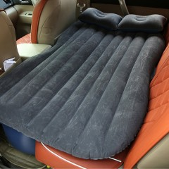 Car Back Seat Car Air Mattress Travel Bed Moisture-proof Inflatable Air Bed