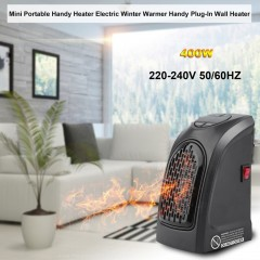 Mini Heater Fan Electric Radiator Heater Plug in Hot Air Heater Blower