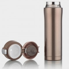 500ML Compact Stainless Steel Insulated Vacuum Water Bottle Drink Water Mug