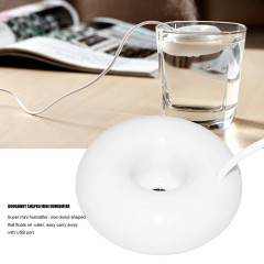 Doughnut Shaped Mini Humidifier For Home And Office USB Portable Air Fresher
