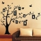 Photo Tree Wall Stickers Removable Decal Home Decor DIY Art Decoration black 70*50cm
