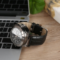 Rechargeable USB Charging Electronic Cigarette Lighter Metal Wrist Watches