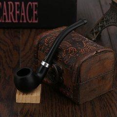 Fashion Practical Bakelite Made Smoking Pipe Weed Pipe Bakelite Smoking Pipe black 110*25*28mm