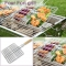 Barbecue Clips Iron Wire BBQ Net Grill BBQ Tongs Fried Meat Vegetable Clamp