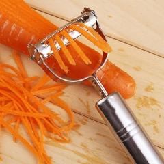 Stainless Steel Vegetable Fruit Peeler Slicer Carrot Potato Cutter Tool