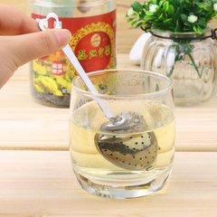 Heart Shape Stainless Steel Tea Infuser Spoon Strainer Handle Shower New