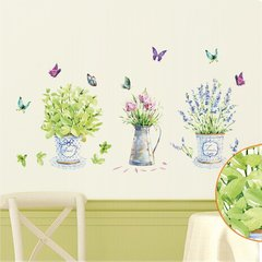 DIY Living Room Bedroom Decoration Wall Stickers Waterproof PVC Wallpaper multi-color 90*60cm