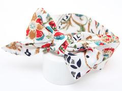 Bow Girl Floral Dot Hairband Headband Accessories Faixa Cabelo Para Bebe Headwear Baby Girl A