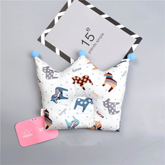 Crown cartoon children's room decoration baby sleep locator support pillow cushion A one size