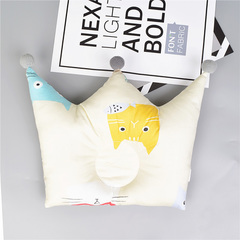 Crown cartoon children's room decoration baby sleep locator support pillow cushion B one size