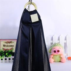 Ergonomic baby adjustable carrier cotton breathable mesh breastfeeding feeding care set dark blue onesize