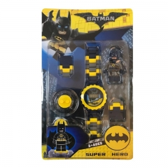 Marvel  The Avengers Children's Toy Watches Block Watch For Boys And Girls Gifts Batman