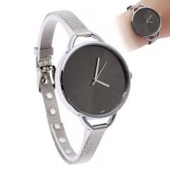Ladies Fashion Watch ,Quartz Watch Steel Strip Black